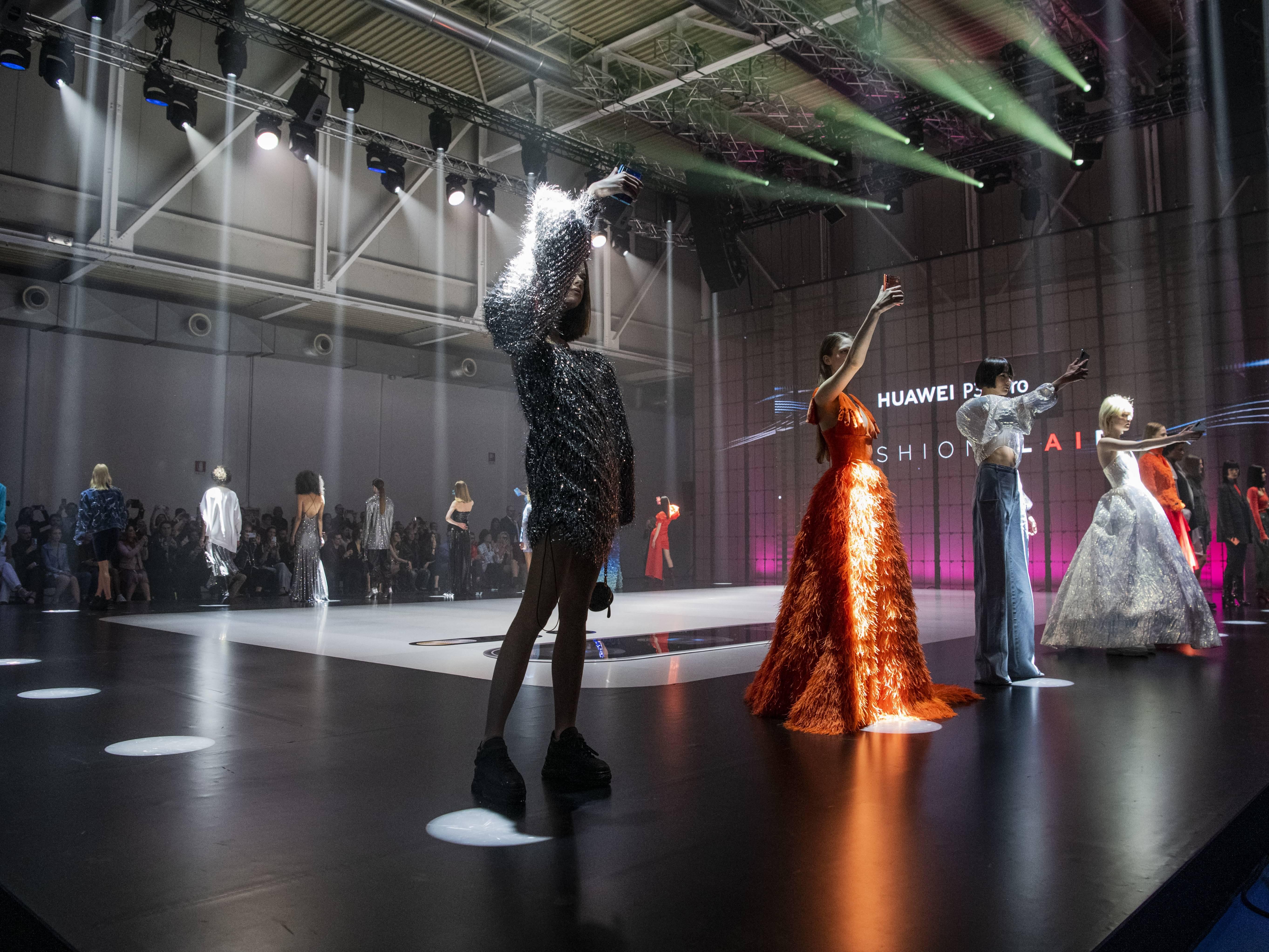 LFM group huawei fashion flair