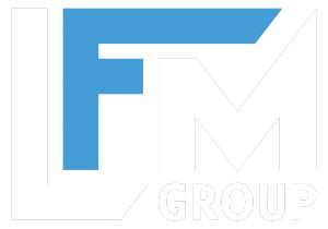 Logo LFM group colore trasparente