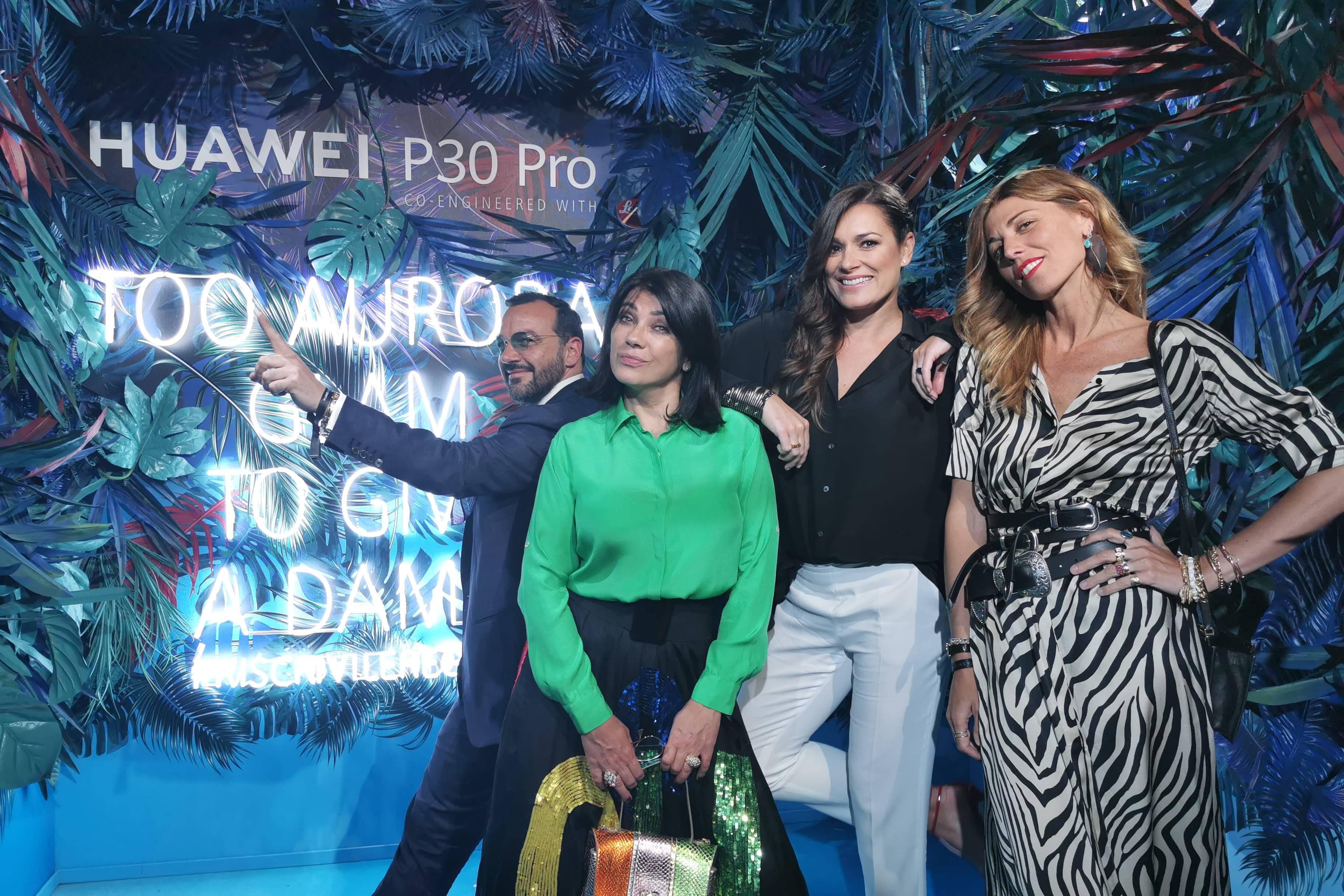 Huawei P30 e 030 pro evento