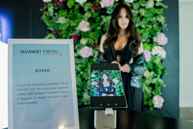 Huawei p30 bokeh