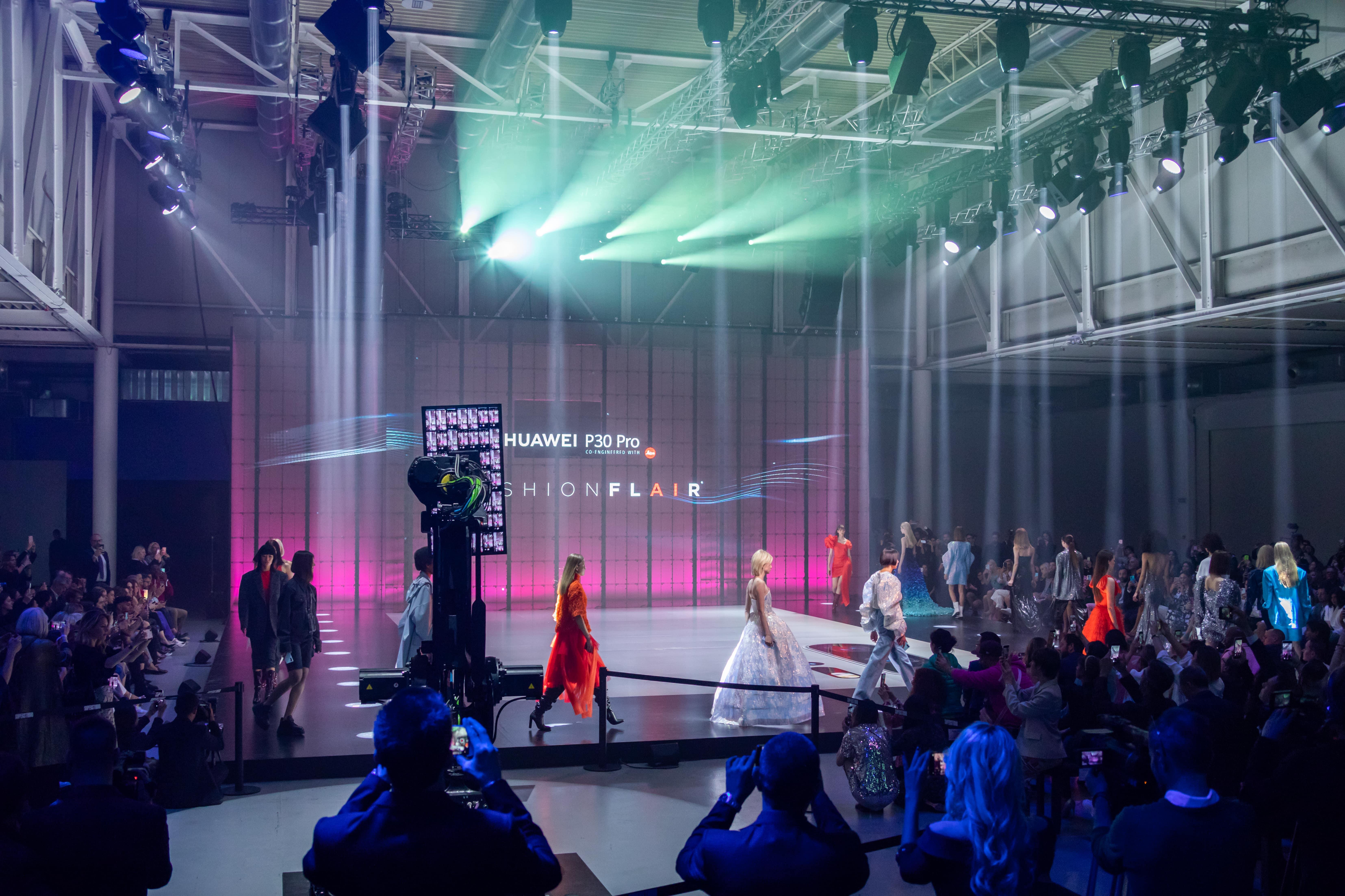Huawei fashion Flair Evento
