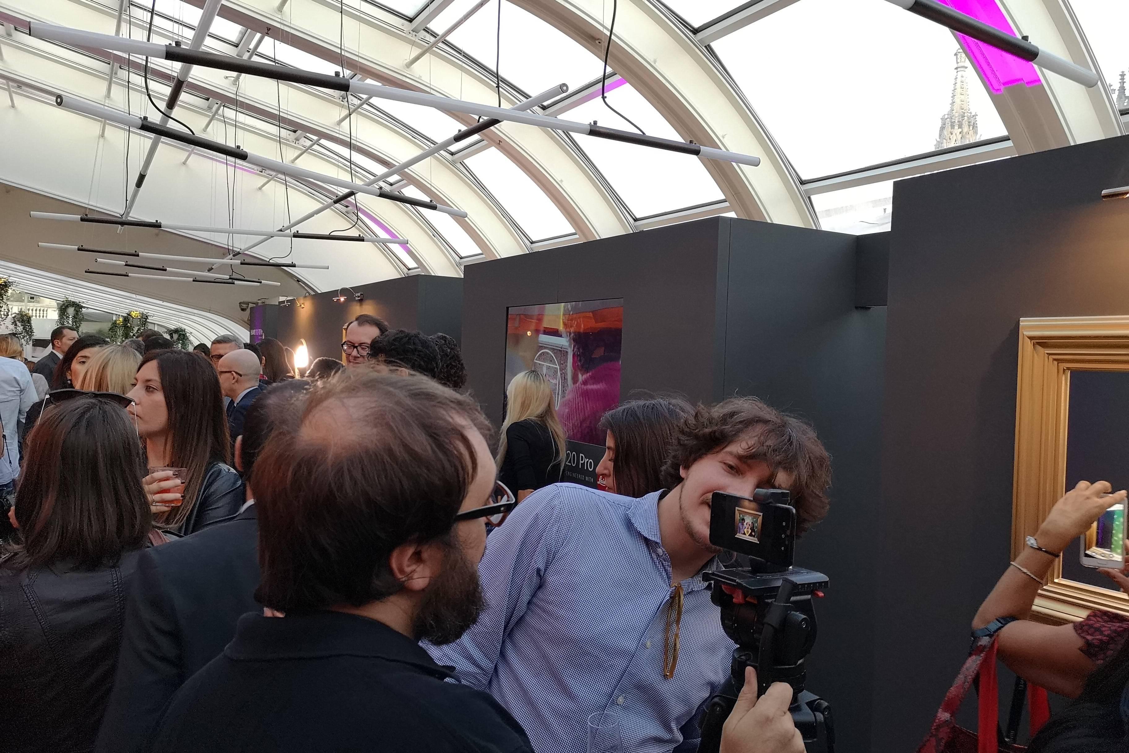 Huawei p20 Pro Party Partecipanti