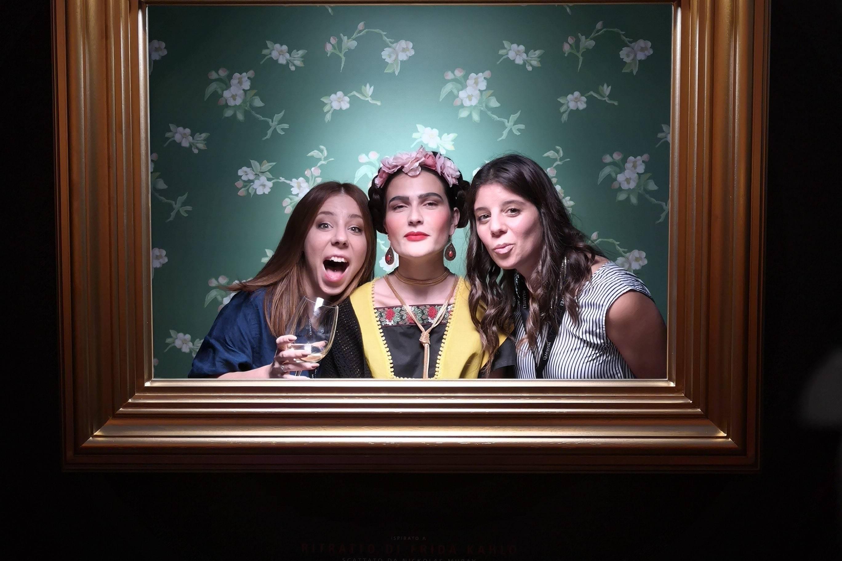 Huawei p20 Pro Party Frida Khalo