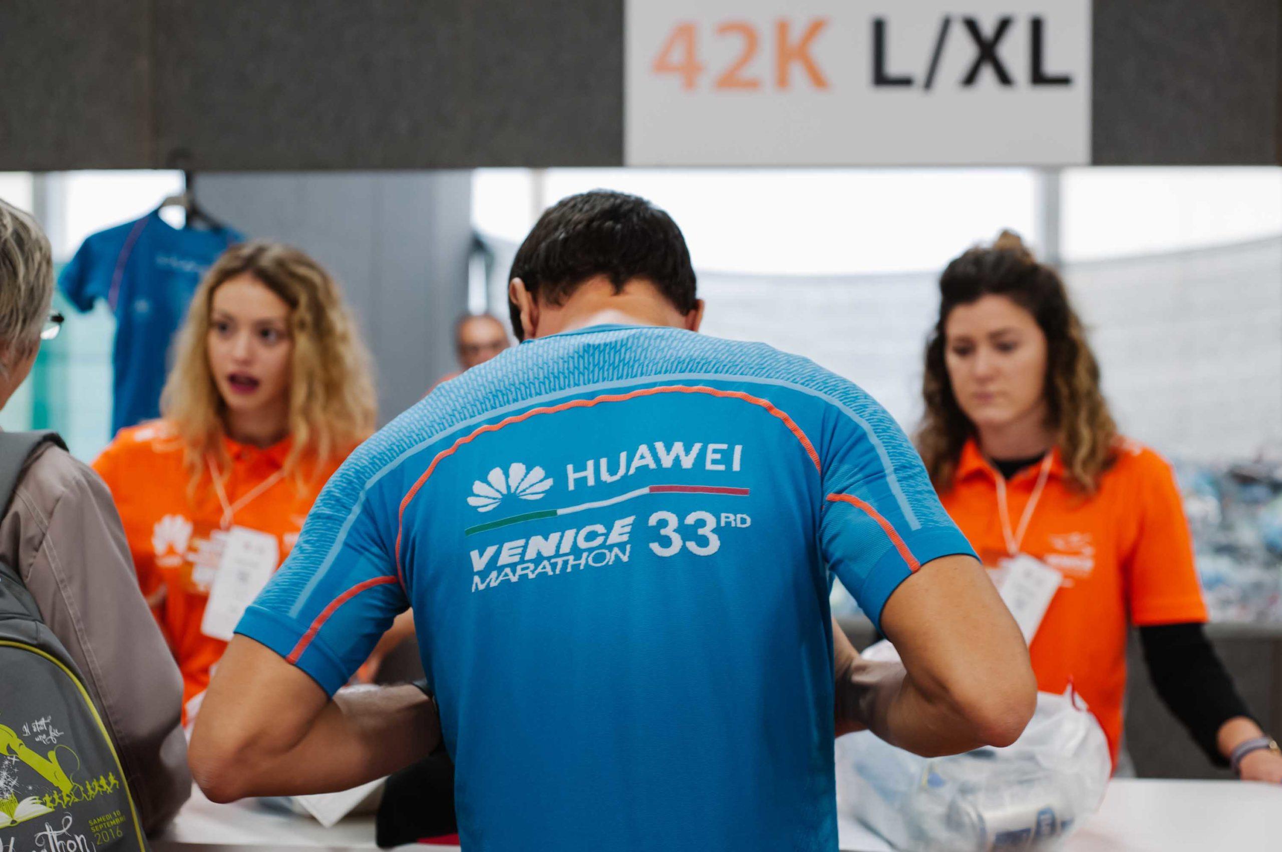 Huawei Marathon venezia concorrente