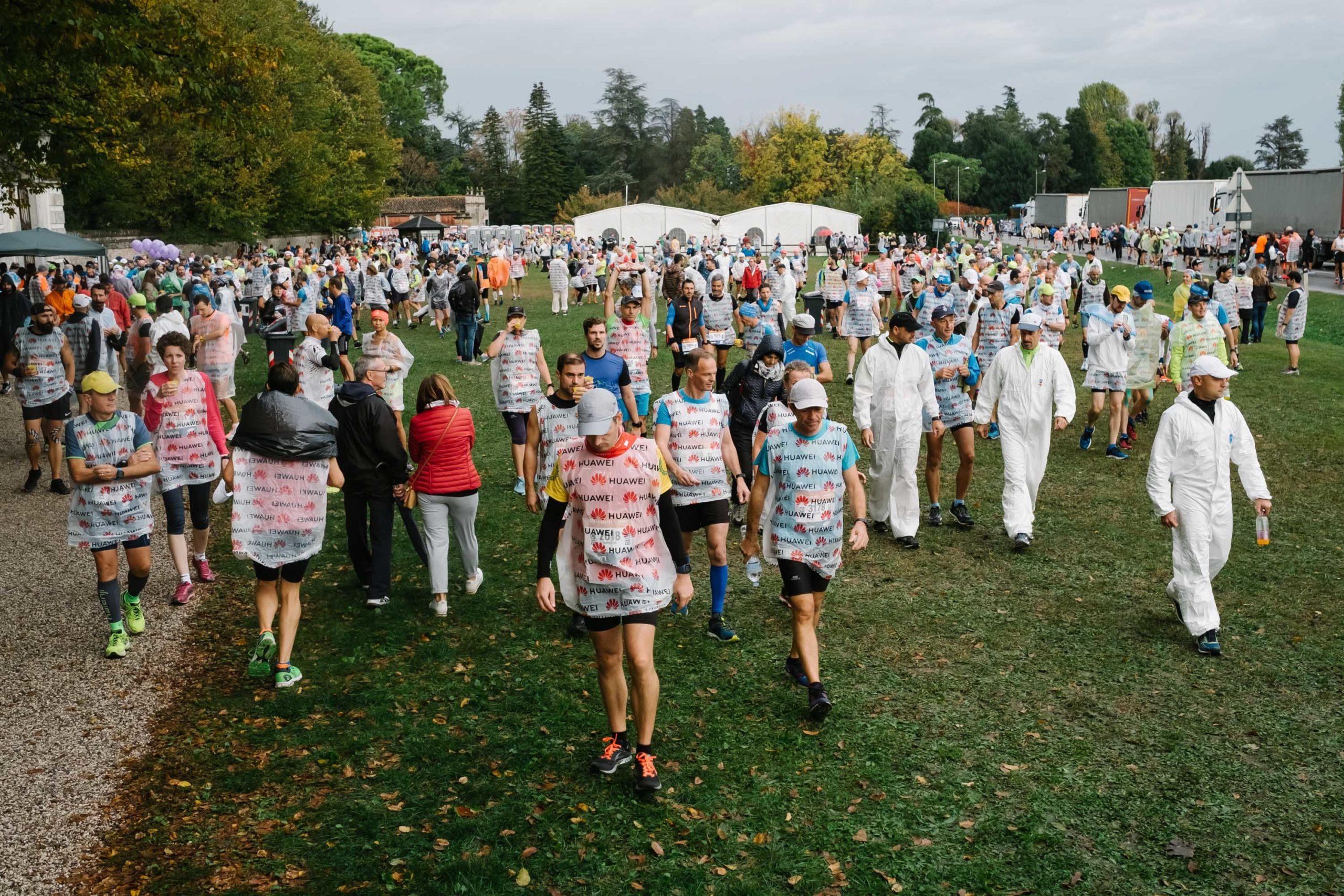 partecipanti alla Huawei marathon