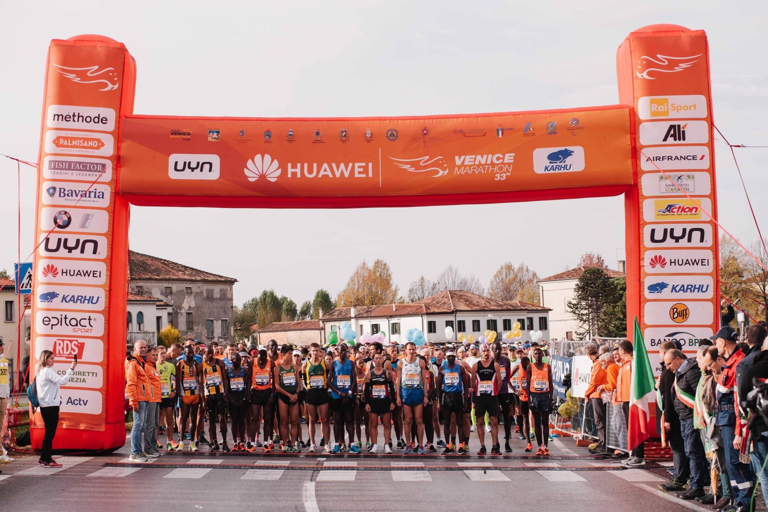 Huawei marathons