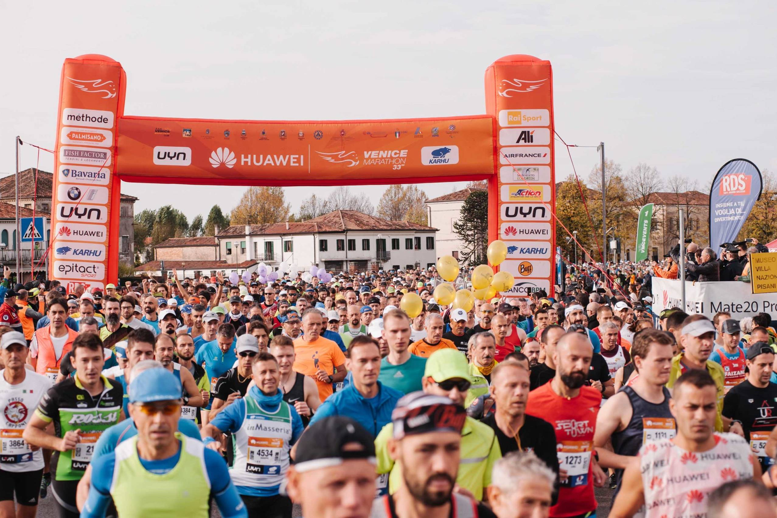 Huawei Marathons venezia start