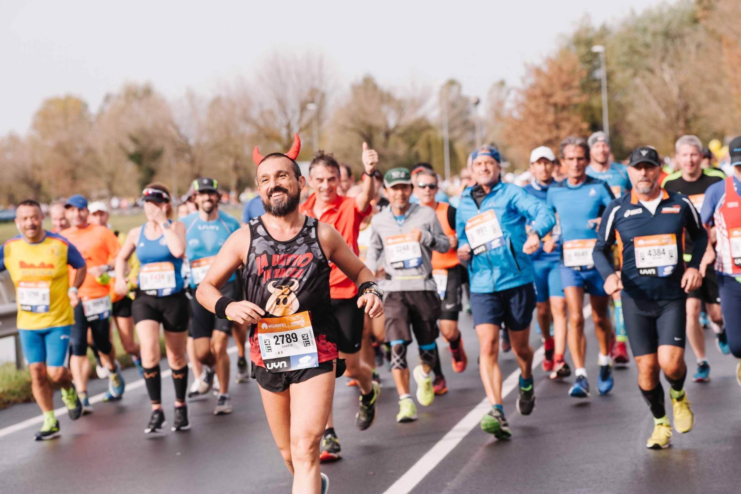 runners della maratona huawei