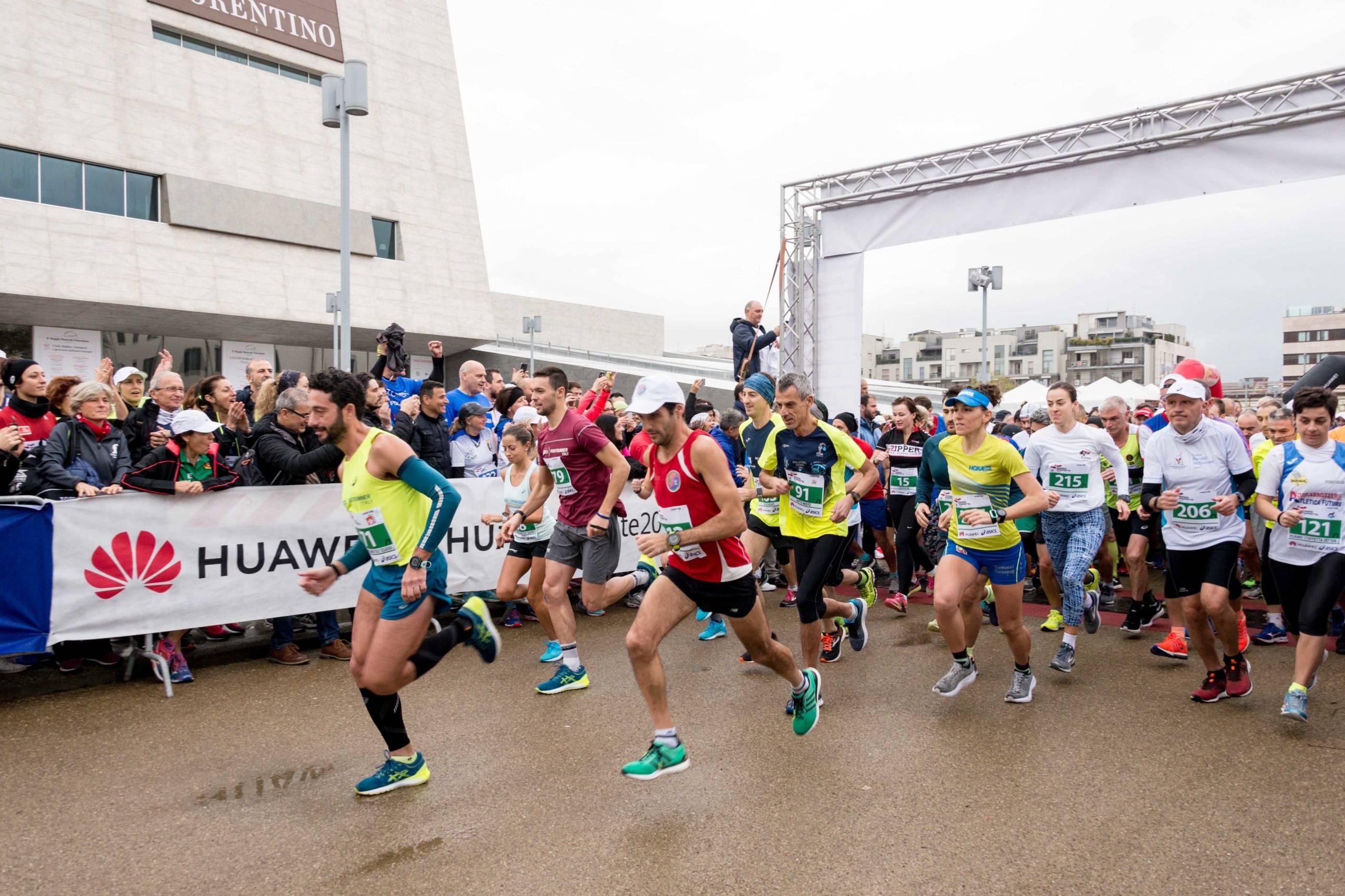 Maratona Firenze Partenza