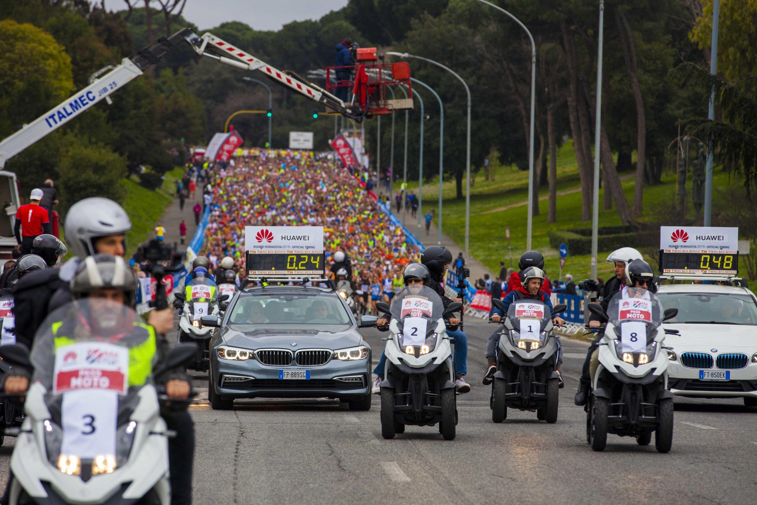 Huawei Marathons partecipanti