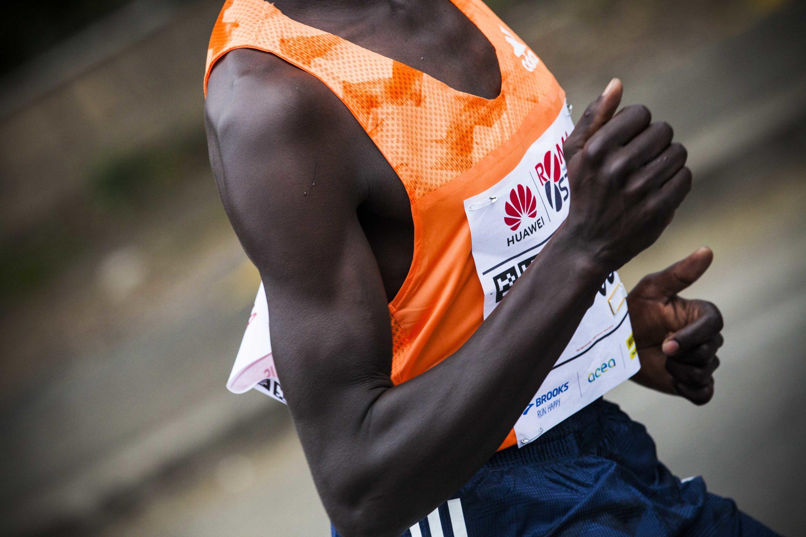 Atleta partecipa alla HUawei Marathon