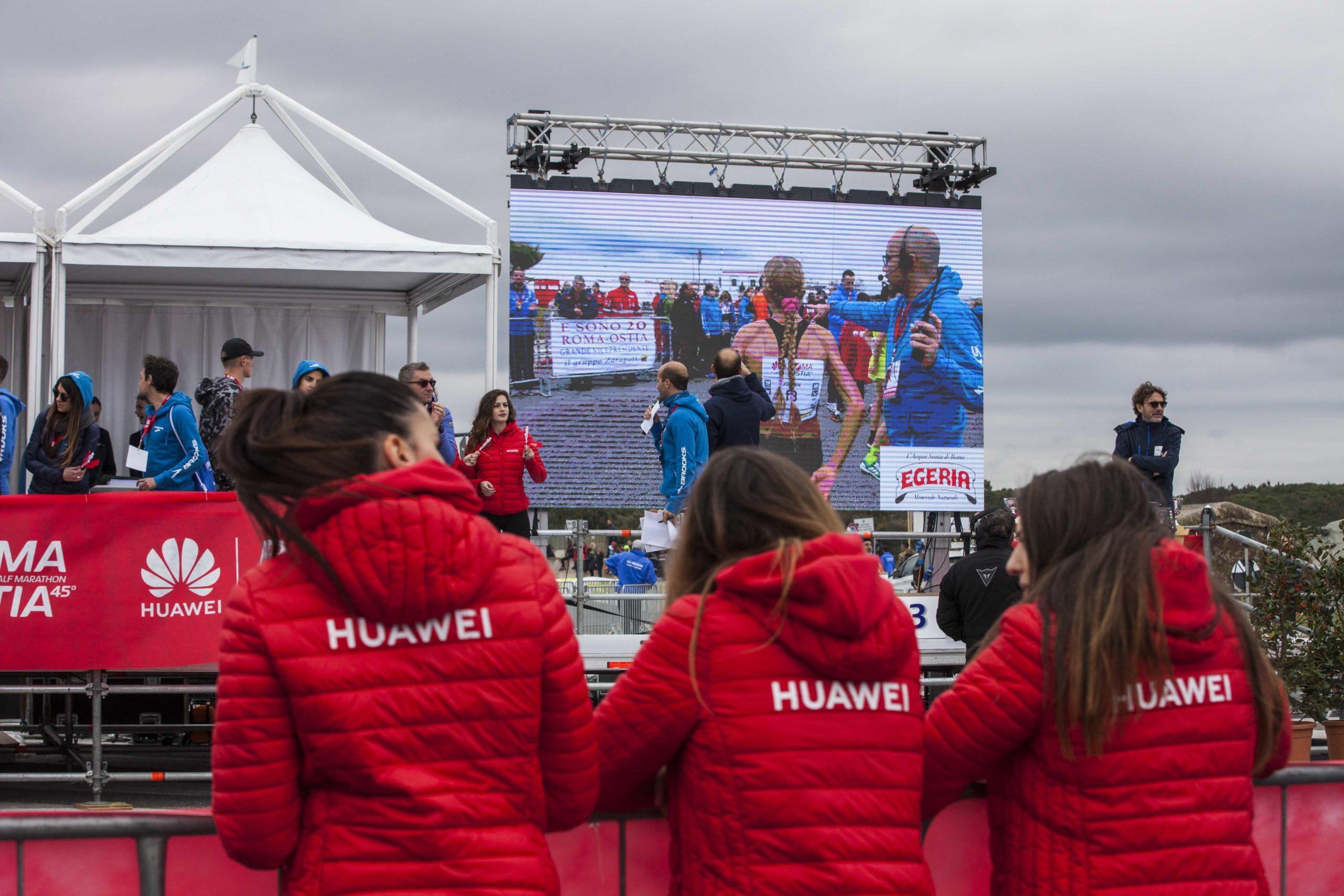 Huawei Marathons staff roma