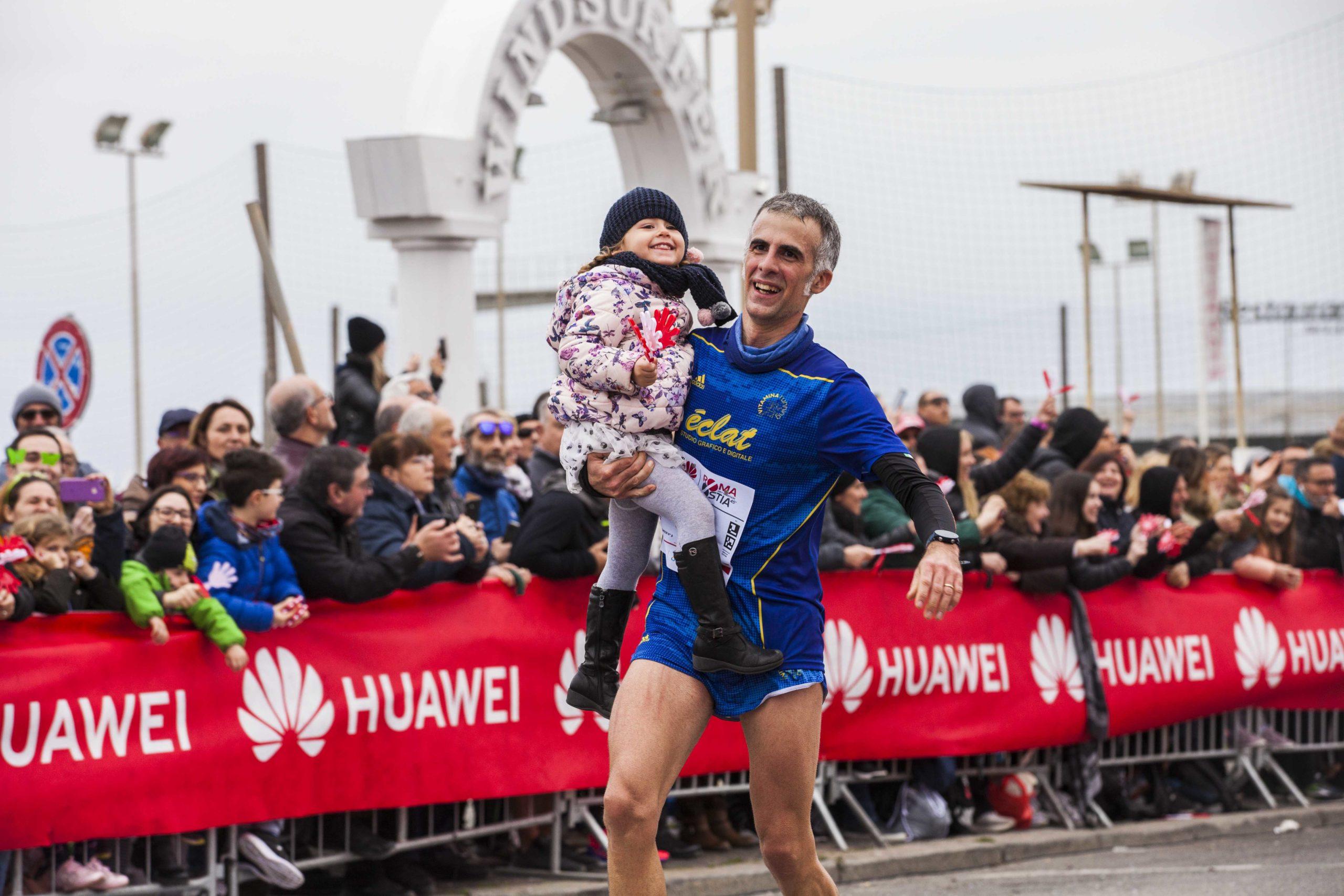 Huawei Marathons Padre e figlia per lo sport