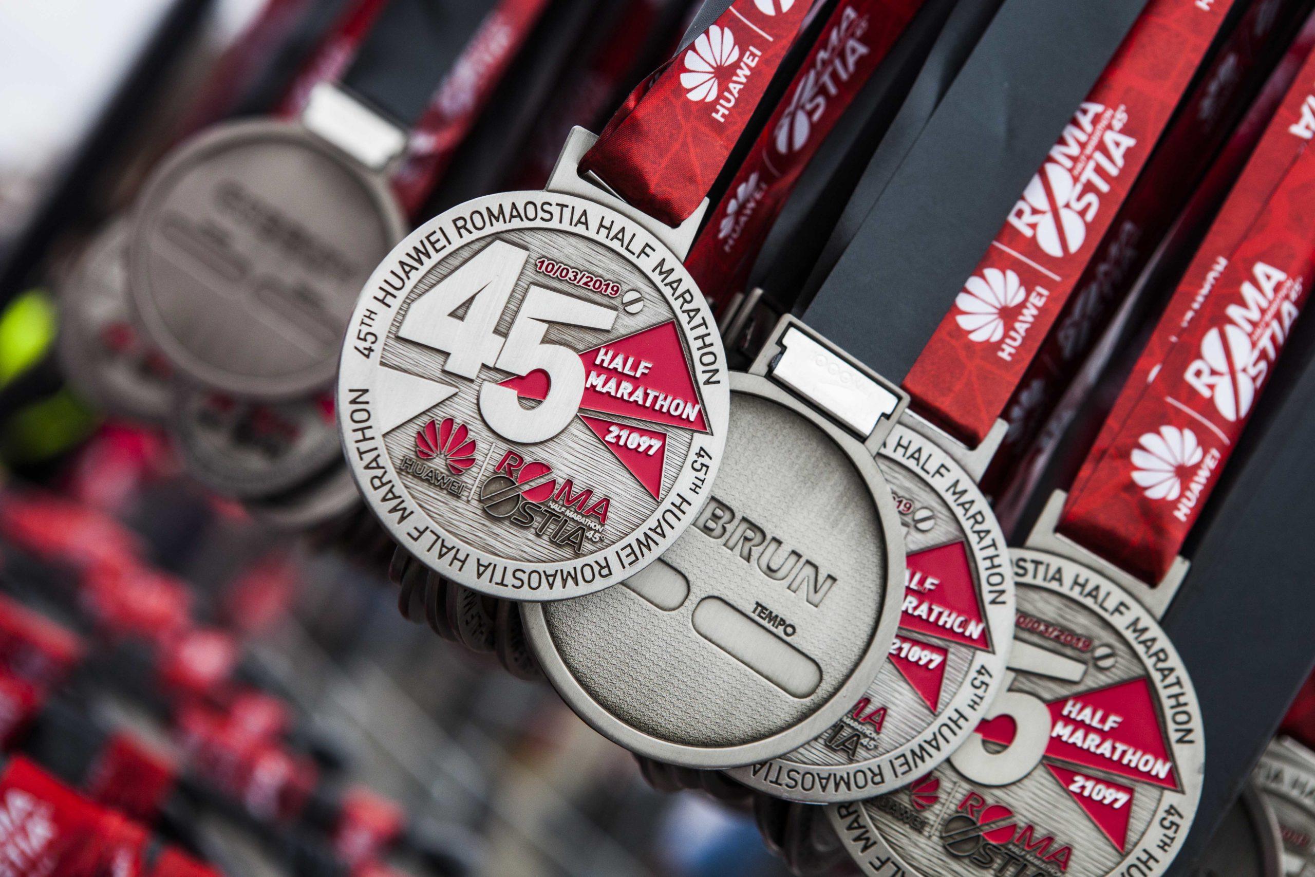 Medaglie e premi huawei marathon